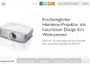 Günstiger Heimkino-Projektor von BenQ: W1110