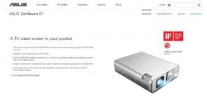 Asus ZenBeam E1: Handlicher Beamer für smarte Anwendungen