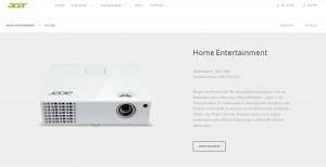 Leicht und mobil: Der H6510DB von Acer
