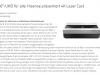 Der neue 4K Laser Cast von Hisense