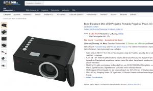 Build Excellent Mini-Projektor: Winzling für unterwegs