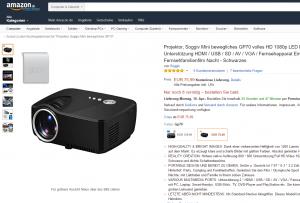 Soggiv GP70 UP: Kompakter Beamer mit Android