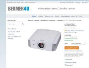 JVC: Neue Beamer mit 4K-Shifting