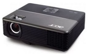 Vielseitig: Der Beamer Acer P1265