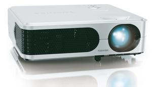 Breitbild fürs Business: Toshiba TLP WX 2200 Beamer