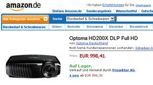 Optoma HD 200 X Full HD Billig Beamer