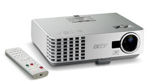Klein und laut: Acer P 3150 Business Beamer