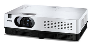 3000 Lumen: Sanyo PLC-XW300 Business Beamer