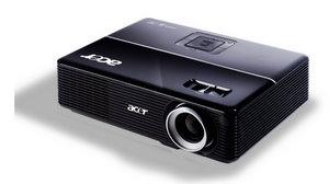 Auch daheim daheim: Acer P1200 Business Beamer