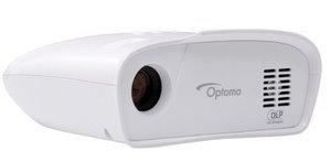 Klein und weiß: Optoma GT 100 Mini Beamer