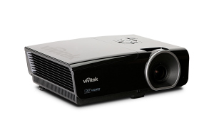 Power-Projektor: Vivitek D950HD Full HD Heimkino Beamer