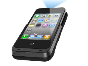 Fürs Wohnzimmer: Aiptek i50 Mini iPhone Beamer